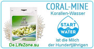 Korallenmineralien Coral-Mine